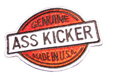 Genuine Ass Kicker Patch