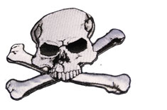 Skull and Cross Bones Patch
