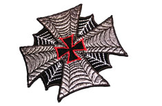Spider Web in Iron Cross Patch