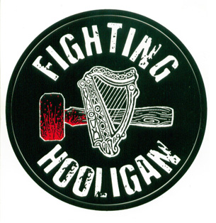 Circle FIGHTING HOOLIGAN